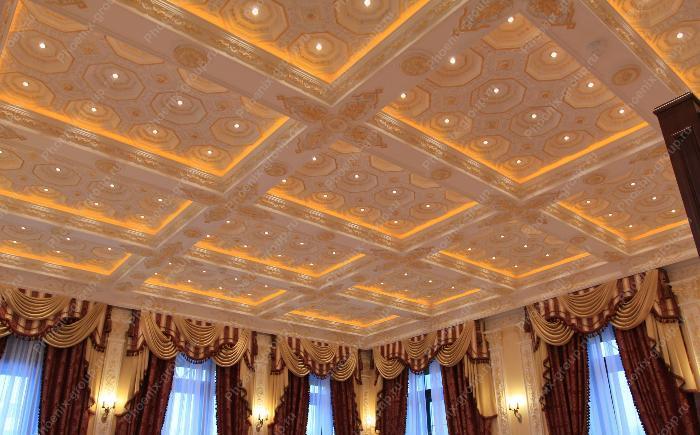 Новые идеи для оформления потолка